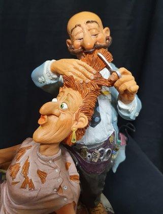 Parastone--Fons-van-Dommelen-en-Ed-van-Rosmalen-Profisti-Full-color-Handpainted-Action-Figure-Original-Ambacht-Figuren