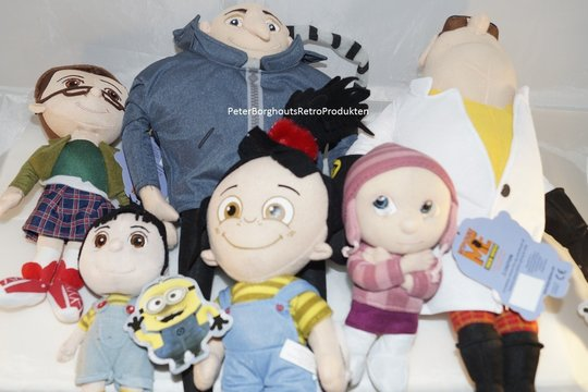 DISPICABLE-ME-MINIONS-De-Verschrikkelijke-Ikke-PVC-en-Plush-Doll-Toy