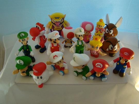 Supermariobros-Merchandise-Supermario-Pvc-Poppetjes-en-Mario-en-Luigi-Figuren