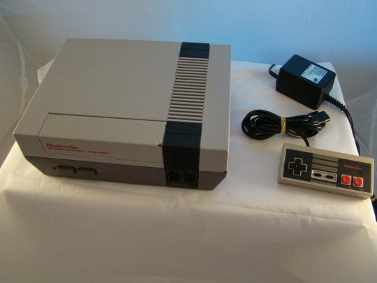 Nintendo-Nes-Game-Console-Pal-A-used-8-Bit-Spel-computer-gebruikt-goede-Staat