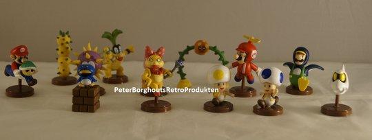 Supermario-Pvc-Figure-3-tot-8cm-Super-mario-en-Luigi-Pvc-Poppetjes-en-Figuren