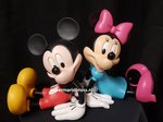MICKEY EN MINNIE BOOKENDS