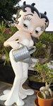 Betty Boop Planter - Betty Boop with Watering Can - Betty Boop Met Gieter - Decoratiebeeld
