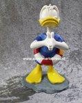 Donald Duck Diving  - Disney Donald Duck Duiken - Polyresin Decoratiebeeld Nieuw in BOX