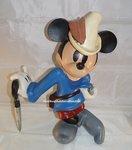 Mickey The Brave Little Tailor - Het Dappere Kleermakertje - Polyester Decoratie Beeld