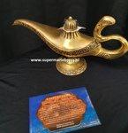Disneyland Paris Genie Lamp ( Aladdin ) 33cm rare Limited of 4000 new Boxed