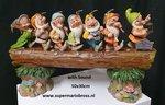 7 Dwarfs Musical Trunk Jim Shore Disney Traditions Masterpiece Big Fig New Boxed