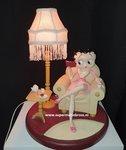 Betty Boop in Armchair Lamp original Kfs