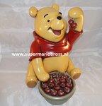 Winnie the Pooh with Cherries - Winnie the Pooh Met Kersen Polyester Dekoratie beeld