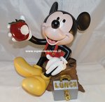 Mickey Mouse Tea - Break - 30 cm groot nieuw staat - Disney Mickey T Break Beeld - Boxed