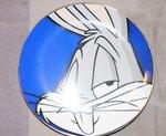 WB looney Tunes Warner Bros Collector Plate Bugs Bunny  2080 van 2500 Plate Boxed