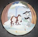 WB looney Tunes Warner Bros Looney Tunes Collector Plate Devil May Hare Plate Boxed