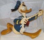 Donald Duck aan Koord - Disney Donald Duck Climbing Statue - Used Donald Duck Figurine