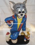 Tom and Jerry Small Statue - Tom & Jerry Looney Tunes / Warner Bros Beeld - 36 cm