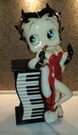 Betty Boop Cd Holder - Betty  CD Tower Statue BB Decoratie beeld
