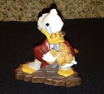 "DISNEY WDCC Scrooge Mc Duck - ""Bah Humbug"" Mickey Christmas Carol in Box"