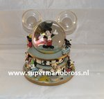 Disney Mickey Mouse Snowglobe Parade & Music Box- Disney Mickey Snowglobe Boxed