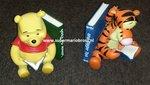 Winnie the Pooh Bookends - Disney Winnie the Pooh Boekensteun Used Dekoratie beeld