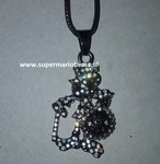 Disney Dagobert Duck Necklace with Walking Stick Money Bag - Scrooge M Duck Necklace