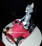 Tom & Jerry in Car - Tom And Jerry Warner Bros Looney Tunes - Collectible New in Box