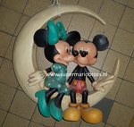 mickey en minnie in de maan