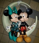 mickey en minnie in the halfmoon