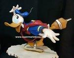 Disney Donald op Schaatsen