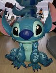 Stitch Big Trouble Figure - Jim Shore Traditions Extra Large Big Fig new in Box