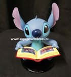 Stitch reading a Book small disneyland Paris figurine New no Box