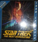 Star Trek The Next Generation - 1998 Calendar, Sealed