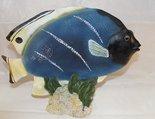 Blauwe Vis - Polyester Decoratieve Vissen 30 x 25 cm