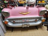 Chevy 57 Pink American retro Bar Chevrolet Home Decoration Bar Wall Decor American Style