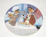 Lady & The Tramp First Date - Collector Plate Lady And The Tramp