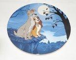 Lady & The Tramp Moonlight Romance - Collector Plate Lady en de Vagabond