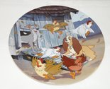 Lady & The Tramp Ruff - House - Collector Plate Lady en de Vagabond