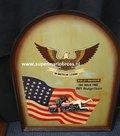 Harley Davidson The Wild One reclamebord PubBord