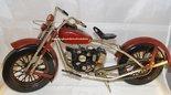 Motorbike Retro Bike  -  Retro vintage Resin Dekoratie Beelden