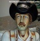 COWBOY - Filmsterren - 3 ft - Cowboy Decoratie Beeld - Sixties Style