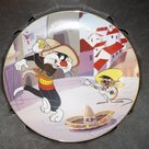 WB looney Tunes Warner Bros Looney Tunes Collector Plate Mexican Cat Dance Plate Boxed