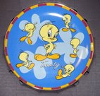 Warner Bros Looney Tunes Tweety Attitudes Collectors Plate Boxed