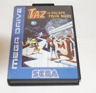 Taz Escape From Mars - rare - zeldzaam - Sega Mega Drive 16 Bit Boxed Compleet