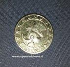 Scrooge Mc Duck Gold Coin - Disney Dagobert Duck 24 K 999 Gold Coin  - Geluksdubbeltje 1947 verguld