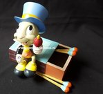 Disney Pinocchio's Jiminy Cricket on Matchbox Figure Sculpture Disney Park Collection New Boxed