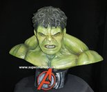 Hulk Half Scale Comic Bust Marvel Comics Superheroes Very Good Condition