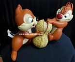Knabbel en Babbel - Chipmunks - Chip & Dale 17 cm