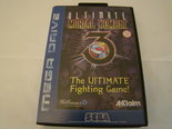 Ultimate mortal kombat - Sega - rare - zeldzaam