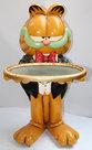 Garfield Butler, resin Dekoratie Beeld
