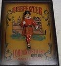 Beefeater - Reclame- Cafebord - Menuborden