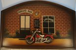 Harleys Leekers Bar - reclame bord