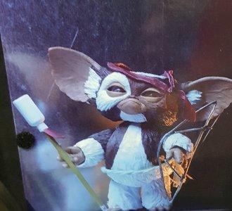 Gremlins Gizmo Neca Reel Toys Ultimate Action Fantasy Handpainted Figurine 12cm High Vitrinebox New